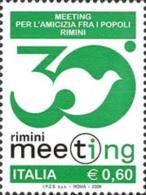 ITALIA REPUBBLICA ITALY REPUBLIC 2009 MEETING AMICIZIA TRA I POPOLI A RIMINI MNH - 6. 1946-.. Republic
