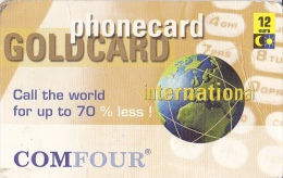 NL  --  PHONECARD  --  GOLDCARD - Netherlands