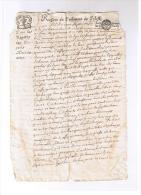 PARLEMENT  DE  TOULOUSE    1680 - Documents Historiques