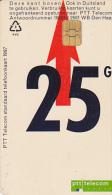NL  --  OLD PHONECARD  --  25 GULDEN - Niederlande