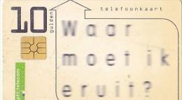 NL  --  OLD PHONECARD  --  10 GULDEN - Netherlands