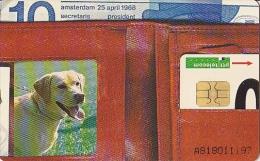 NL  --  OLD PHONECARD  --  10 GULDEN  --  SERIE MENS EN HUISDIER - Ohne Zuordnung