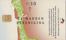 NL  --  OLD PHONECARD  --  10 GULDEN  --  DE WADDEN VERENIGING - Niederlande