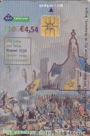 NL  --  OLD PHONECARD  --  10 GULDEN,  4,54 EURO  --  FRANSEN EN BATAVEN SLAAGS MET RUSSEN BIJ DE RUINEKERK - Niederlande