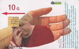 NL  --  OLD PHONECARD  --  10 GULDEN  --  SLACHTOFFERHULP - Ohne Zuordnung