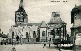 N°36101 -cpa Envermeu -l'église- - Envermeu