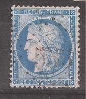 CERES N° 60 Obl GC 533 De BORDERES, Hautes Pyrénées, INDICE 15, TTB - 1871-1875 Ceres