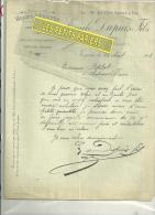 45 - Loiret - JARGEAU - Facture DUPUIS - Grains Et Graines – 1913 - 1900 – 1949