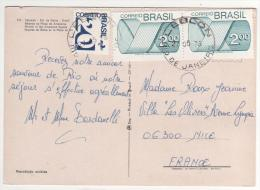 3 Beaux Timbres   / Carte , Postcard Du  27/05/76 Pour La France - Brasile