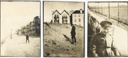 Knokke / 1914-18 / 3 x kleine fotos