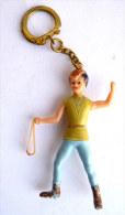 Rare Porte Clés PUBLICITAIRE THIERRY LA FRONDE 60s - FIGURINE EN 3D - Figurines