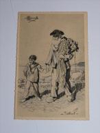 TREBOUL - CPA 29 - Tupes Et Costumes De France. Dessin De Charles  Homualk. - Tréboul