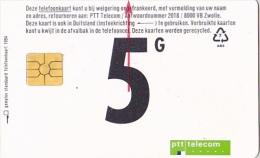 NL  --  OLD PHONECARD  --  5  GULDEN - Netherlands