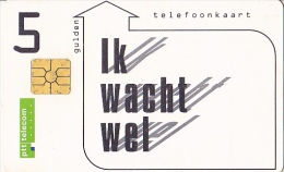 NL  --  OLD PHONECARD  --  5  GULDEN - Niederlande