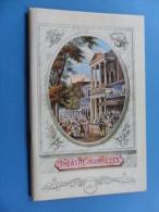 ANCIEN PROGRAMME  THEATRE DES VARIETES  PARIS / L'AUTRE VALSE DE FR. DORIN 1975 - Toneel & Vermommingen
