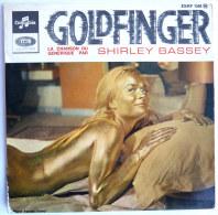 Disque Vinyle 45T JAMES BOND 007 - GOLDFINGER - SHIRLEY BASSEY - COLUMBIA - EMI - Filmmusik