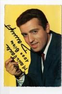 CPSM Yéyés Carte Postale Autographe De Danyel GERARD Chanteur Années 60 - Singers & Musicians