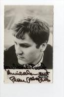 CPSM Yéyés Carte Postale Autographe De Jean-Jacques DEBOUT Chanteur Années 60 - Sänger Und Musikanten