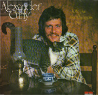 * LP *  ALEXANDER CURLY - VETTE JUS & BOERENJONGEND (Holland 1975 EX!!!) - Vinyl Records