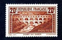 826e  France 1929   Yt.#262c IIA  Mint*  (catalogue €400.00) Offers Welcome! - France