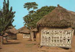 Afrique.Cote D´Ivoire.Fakaha.Village Des Peintures Sur Toile - Costa De Marfil