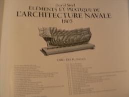 Eléments D´architecture Navale Steel 1805 - Barche