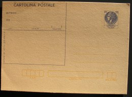 Italia Cartolina Postale £ 120 TURRITA Nuova Mnh ** New Post Card Postal Stationery Cartolina Postale Intero - Interi Postali
