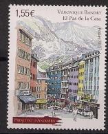 2013  Andorra Fr. Mi.767 **MNH  Ortsmitte Von Pas De La Casa; Gemälde Von Véronique Bandry - French Andorra