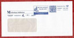 Brief, FRANKIT TeleFrank 6D010.., Muehlacker Tagblatt, 55 C, 2007 (44539) - Covers & Documents