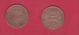 DUPUIS //  2 Centimes 1916  //  Beau TTB - B. 2 Centesimi