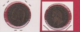 NAPOLEON III //  5  Centimes 1854 A   //  état  TB+ - C. 5 Centesimi
