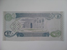 Billete Iraq. 1 Dinar. 1992. Sadam Hussein. Sin Circular - Iraq