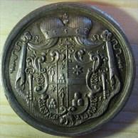 LOT 143:  MEDAILLE ITALIENNE TRES RARE   /   SEDE VACANTE 1769   /   PRINCIPE AGOSTINO CHIGI MARESCIALLO - Royal/Of Nobility