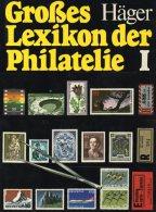 Häger Lexikon Der Philatelie 1978 Band I Antiquarisch 45€ Nachschlagewerk A-M Zu Seltene Marken Der Welt Book Of Germany - Art