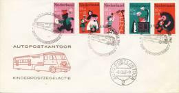 Autopostkantoor Kinderpostzegelactie 1967 - Blanco - FDC