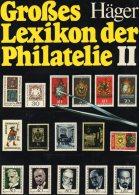 Häger Lexikon Der Philatelie 1978 Band II Antiquarisch 45€ Nachschlagewerk N - Z Seltene Marken Der Welt Book Of Germany - Graphisme & Design