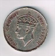 Pièce De 1 Rupee King George The Sixth - Mauritius 1950 (Ile Maurice) - Mauritius