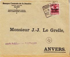 1915, Aalst, Etappengebied - Guerre 14-18