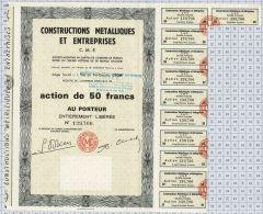 Constructions Métalliques Et Entreprises CME - Industrie