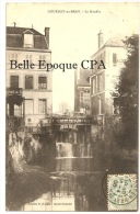 76 - GOURNAY-en-BRAY - Le Gouffre +++ E. Houpin, Cliché Braendli +++ Vers Paris, 1906 ++ - Gournay-en-Bray