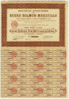 Fonciere Berre-Bolmon-Marseille - Tourisme