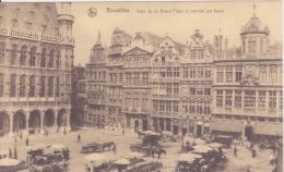 Bruxelles Coin De La Grand Place Et Marchè Aux Fleurs - Mercati