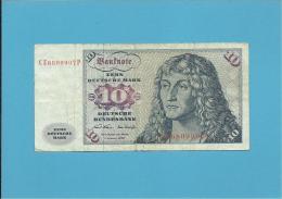 GERMANY - 10 MARK - 02.01.1970 - P31 A - DEUTSCHLAND - 10 Deutsche Mark