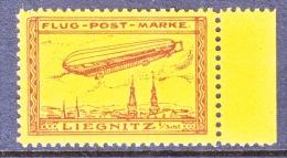 GERMANY  AEROPHILATELIC  VIGNETTE  ZEPPELIN  SACHSEN  1913  Reproduction   ** - Airmail