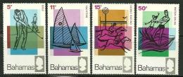 "Bahamas         ""Sports""      Set           SC# 272-75  MNH** - Bahamas (...-1973)"