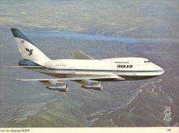 (328) Aviation - Iran Air Boeing 747SP - 1946-....: Moderne
