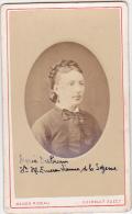 CDV - Femme ( Marie Dubrun ) - Maison Rideau, Gueroult Succ. - Cherbourg - Fin 1800 - Début 1900 - Personnes Identifiées