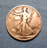 UNITED STATES OF AMERICA - HALF-DOLLAR LIBERTY ARGENT - 1917 - A. Prototype