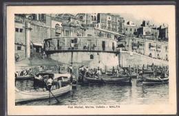 MALTE . Fish Market , Marina , Valletta . - Malte