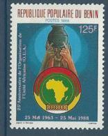 """Benin YT 659 """" O. U. A. """" 1988 Neuf** - Bénin – Dahomey (1960-...)"""